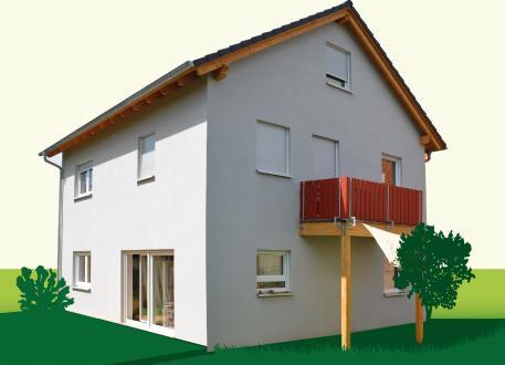 Zweifamilienhaus Sachsenheimer Fertighaus SD121-2F