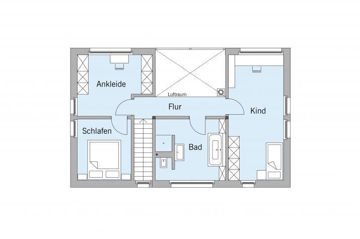 Schellenberg - Dachgeschoss