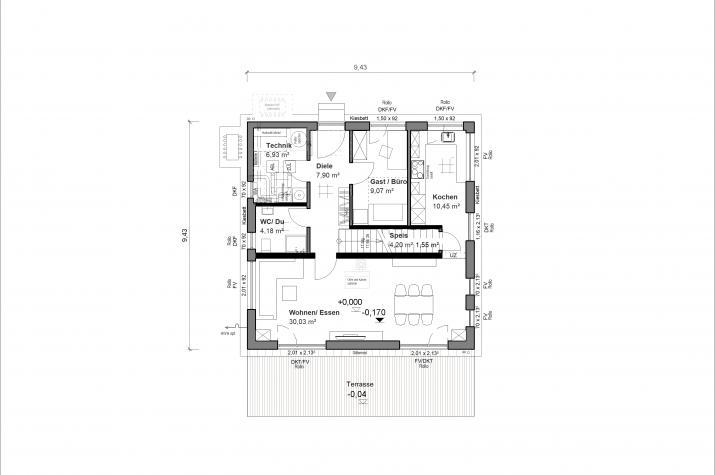 Schlossallee 138 - Ergeschoss