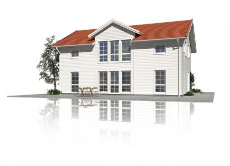 Schwedenhaus Hussvalan - Großzügige Fensterflächen