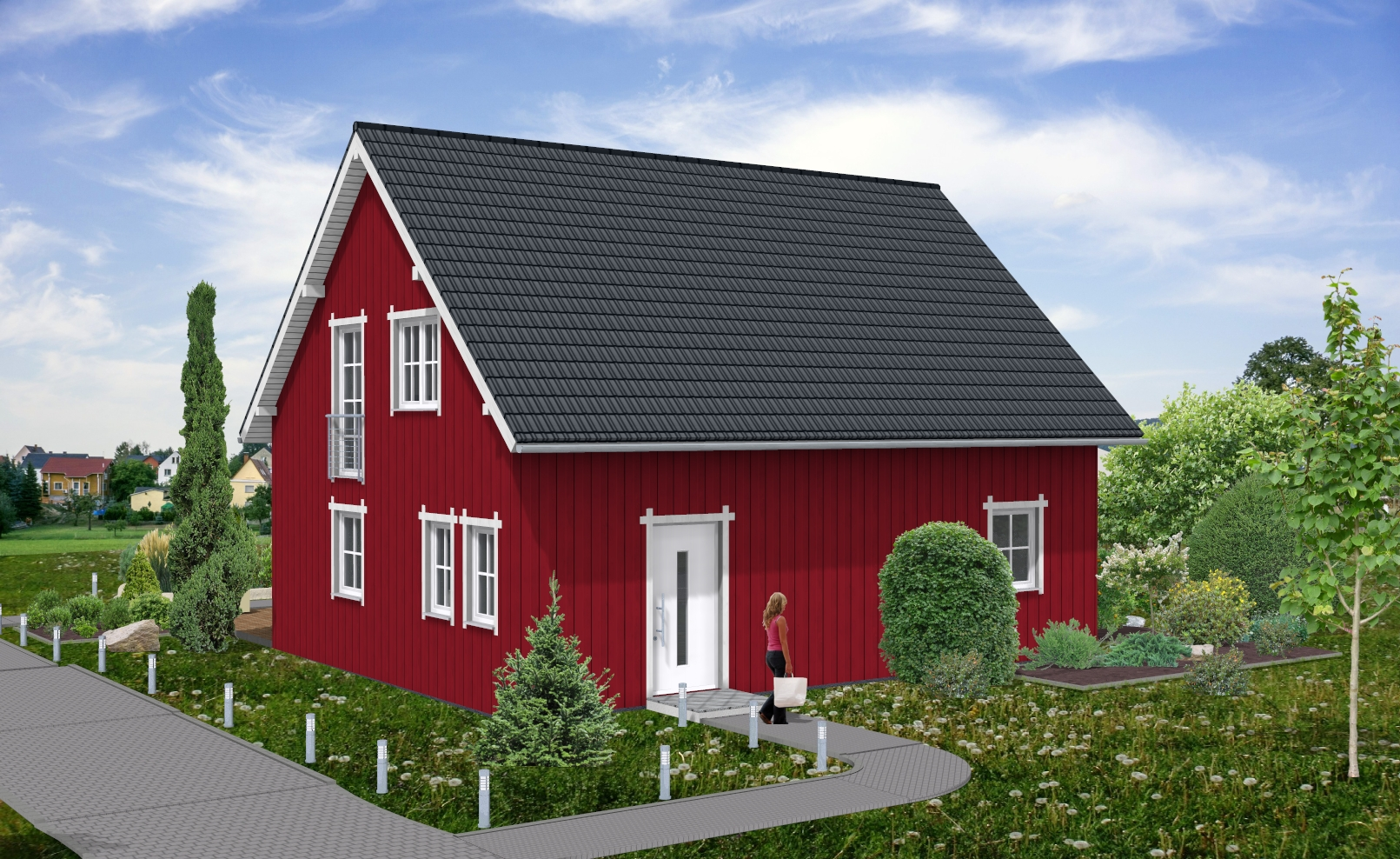 schwedenstil holzverbundhaus grosch hobmeier gmbh. Black Bedroom Furniture Sets. Home Design Ideas