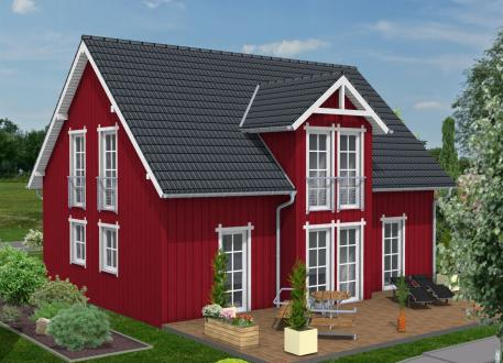 einfamilienhaus ab euro fertighaus. Black Bedroom Furniture Sets. Home Design Ideas