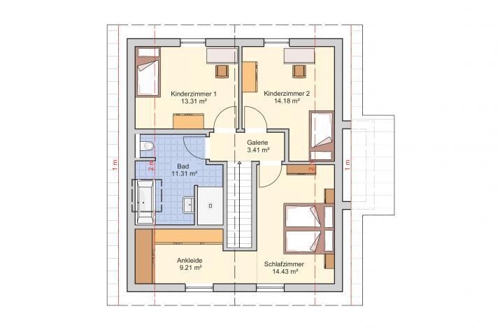 Seka - Wohngesundheit und Wohlgefühl werden eins - Dachgeschoss