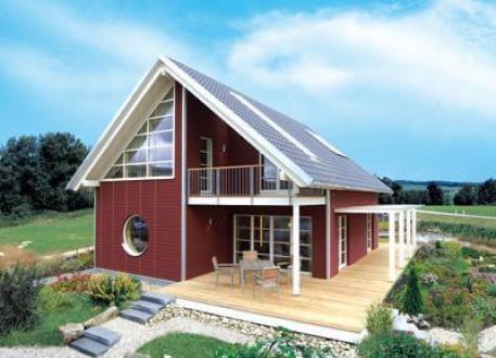 Einfamilienhaus Skandinavisch - unser Bio-Familien Haus