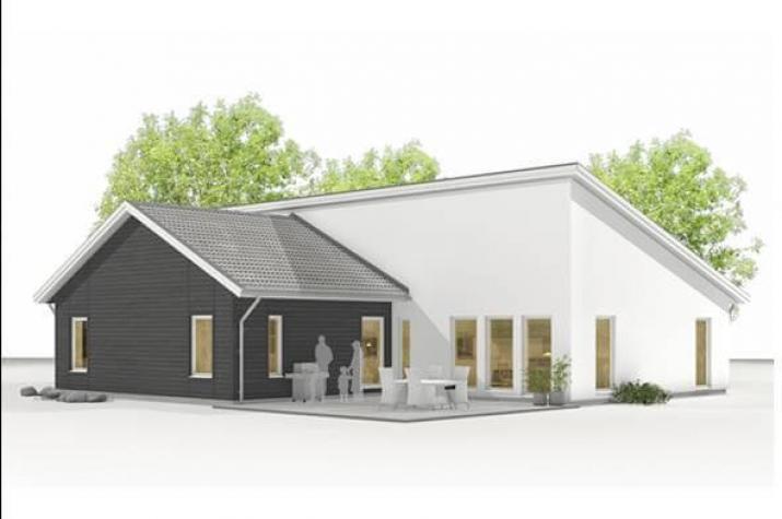 Skandinavisches Designhaus NF 160  -