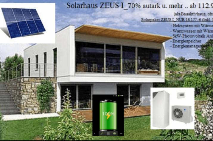 solarhaus zeus i autark u mehr ab 112 900. Black Bedroom Furniture Sets. Home Design Ideas