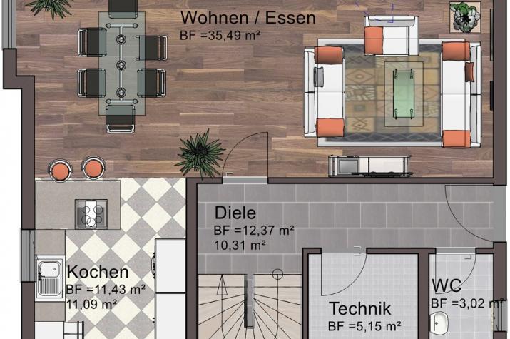Sonderedition 10 - Erdgeschoss