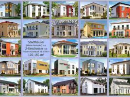 Stadthäuser PARK 103 bis 280 - Effizienz55pur - Erdwärme --- Zukunft schon heute! --- www.hausfreu.de