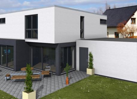 Niedrigenergiehaus Stadthaus, Stadtvilla Kelkheim