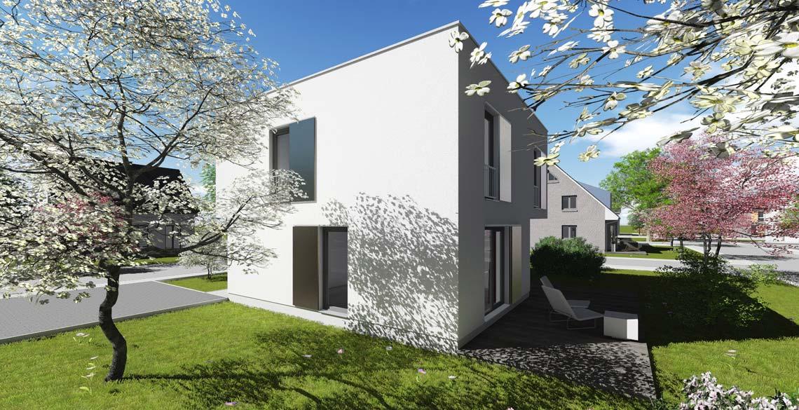 stadthaus typ 1 mit 121 qm br uer architekten rostock. Black Bedroom Furniture Sets. Home Design Ideas