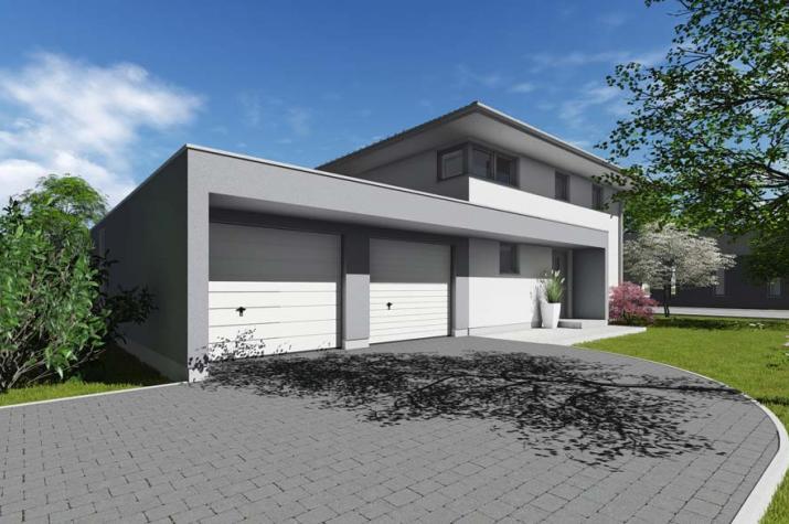 stadthaus typ 2 mit 132 qm br uer architekten rostock. Black Bedroom Furniture Sets. Home Design Ideas