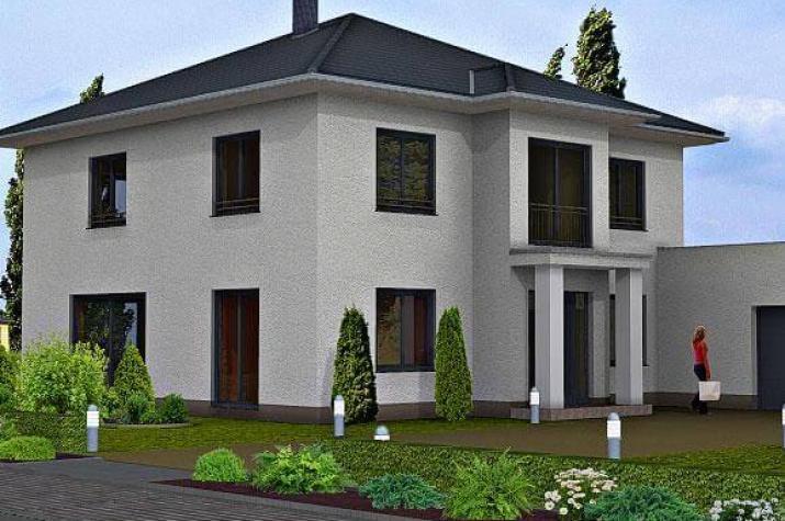 Altersgerechtes bauen grundrisse doppelgarage die for Haus mit doppelgarage bauen