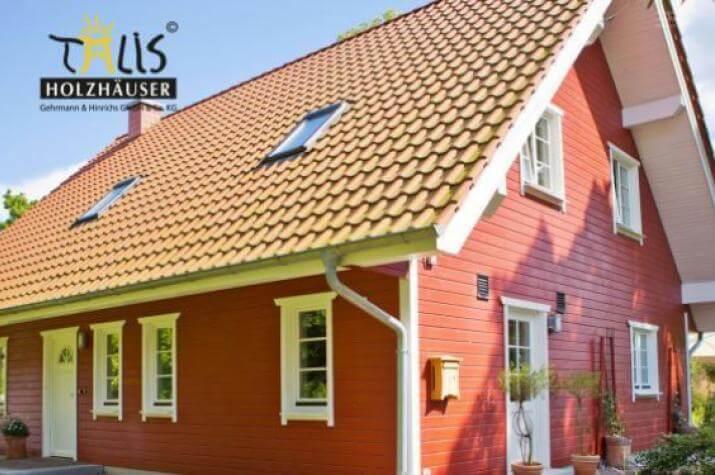 Talis Holzhäuser - leben wie im URLAUB  - Talis Holzhaus