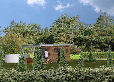 Tiny Home Garten-Marie