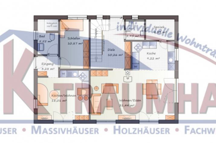 variables einfamilienhaus mit einliegerwohnung jk traumhaus. Black Bedroom Furniture Sets. Home Design Ideas