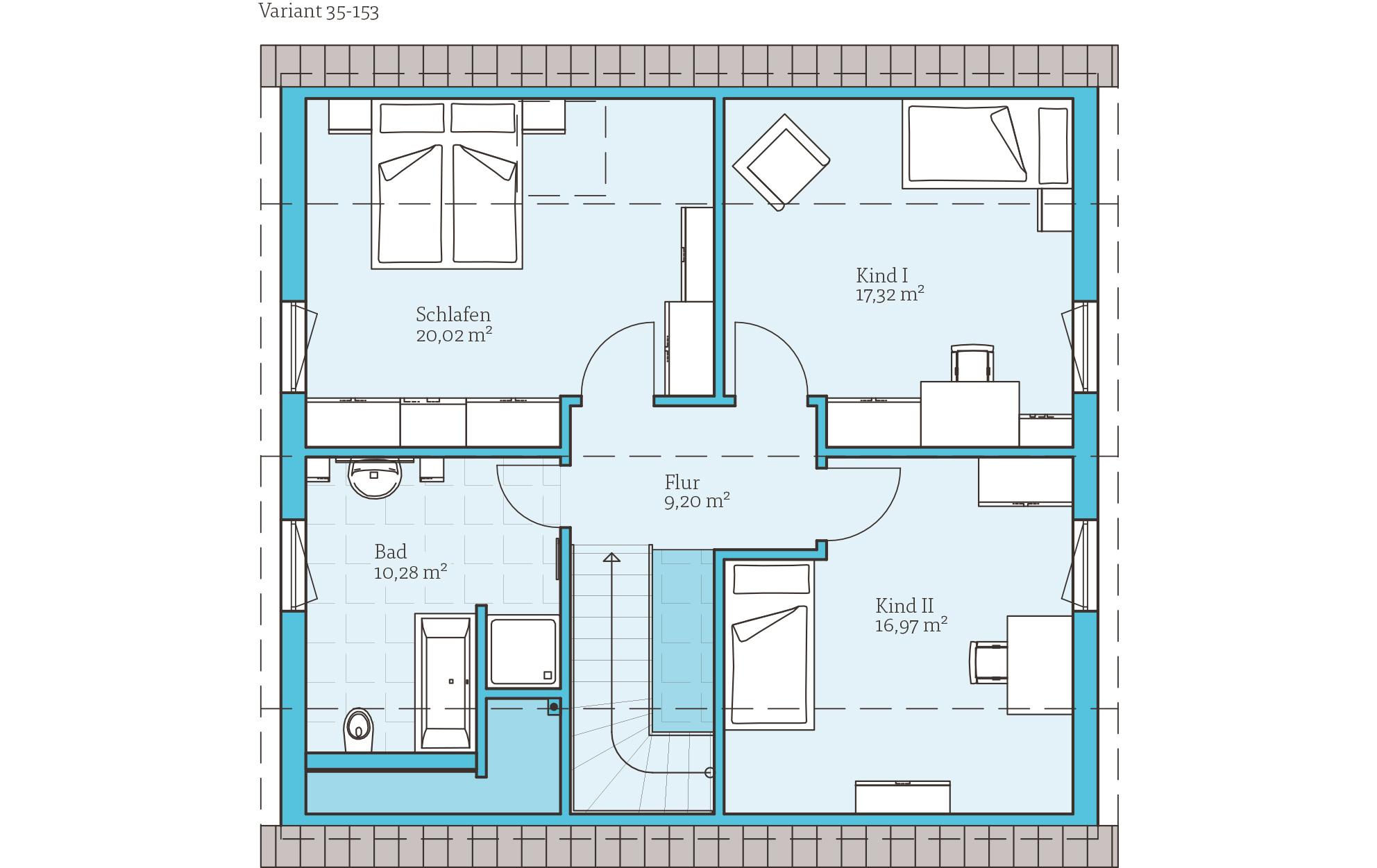 variant 35 153 hanse haus gmbh. Black Bedroom Furniture Sets. Home Design Ideas