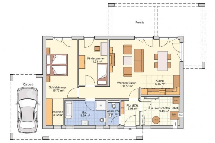 Vespero: Stilvolle Vielfalt mit klarer Linie  - Erdgeschoss
