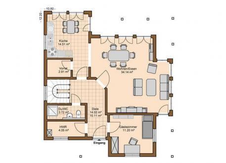 Einfamilienhaus mit maximal 250 quadratmeter wohnfl che for Grundriss einfamilienhaus 2 vollgeschosse