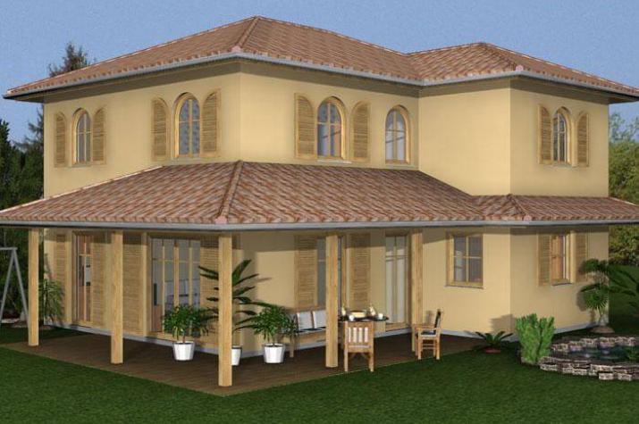 Villa Denia - grundriss eg