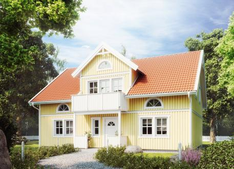 Niedrigenergiehaus Villa Freja Lindberg