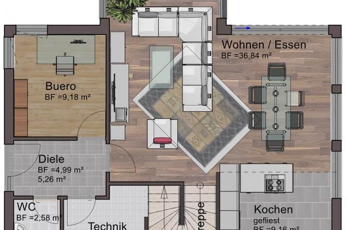 Vision 129 - Vision 129 Erdgeschoss
