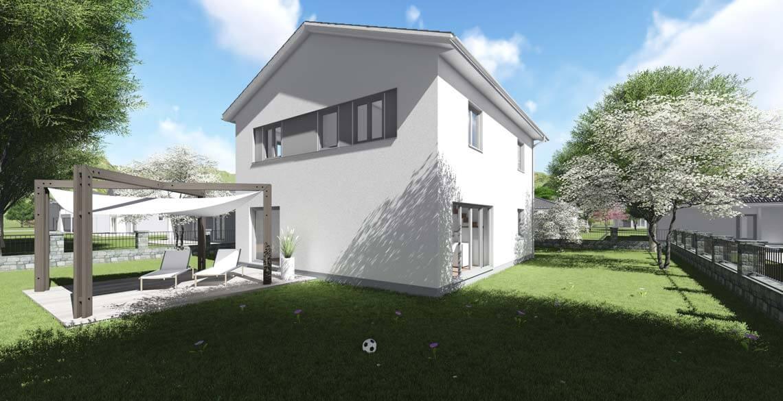 wohnhaus typ 3 mit 168 qm br uer architekten rostock. Black Bedroom Furniture Sets. Home Design Ideas