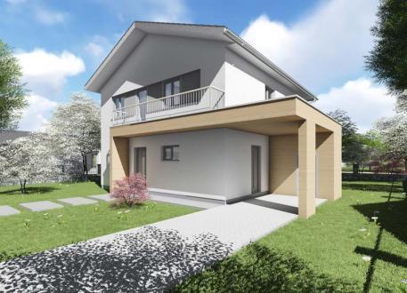 einfamilienhaus ab euro ab 150 m ausbauhaus satteldach 2 geschossig. Black Bedroom Furniture Sets. Home Design Ideas