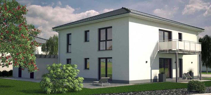 Zwei-Familien im Villenstil - Energiesparhaus+ Projekt GmbH
