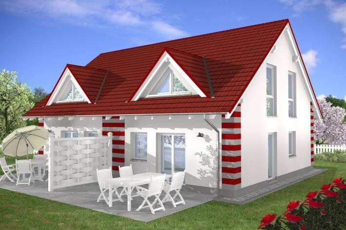 ᐅ Zweifamilienhaus bauen | 135 Zweifamilienhäuser mit Grundriss und ...