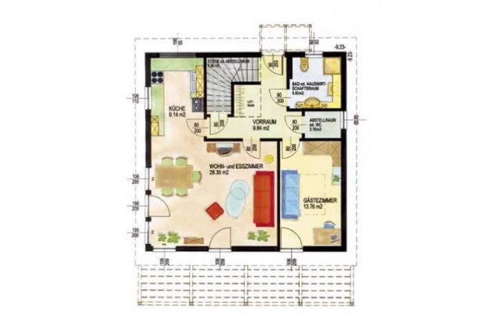 Individuell geplant architektenhaus mit viel for Architektenhaus grundriss