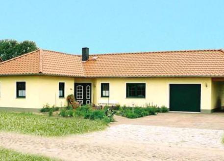 ...individuell geplant ! - Bungalow mit integrierter Garage und Carport - www.jk-traumhaus.de