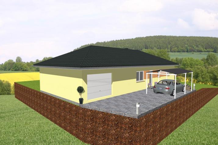 Jk Traumhaus ᐅ individuell geplant bungalow mit integrierter garage