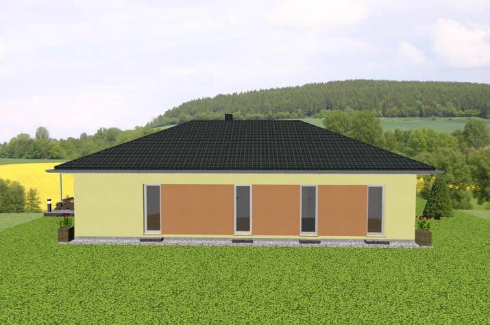 individuell geplant bungalow mit integrierter garage jk traumhaus. Black Bedroom Furniture Sets. Home Design Ideas