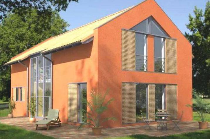 individuell geplant designerhaus f r schmale. Black Bedroom Furniture Sets. Home Design Ideas