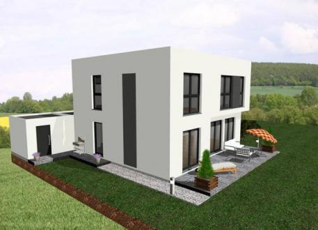 Designerhaus ...individuell geplant ! - Dezent aufgewerteter Kubus mit familienfreundlicher Raumaufteilung - www.jk-traumhaus.de