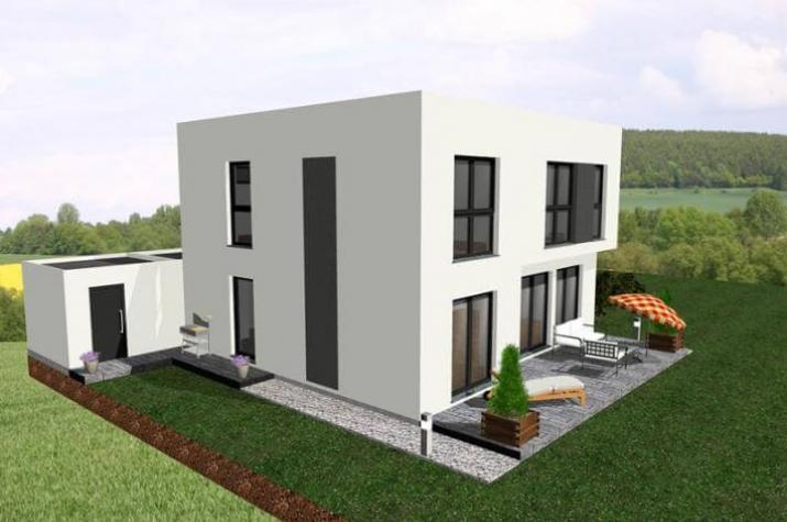 Jk Traumhaus ᐅ individuell geplant dezent aufgewerteter kubus mit