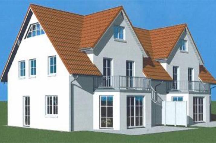 individuell geplant doppelhaus viel haus auch auf kleinem grundst ck. Black Bedroom Furniture Sets. Home Design Ideas