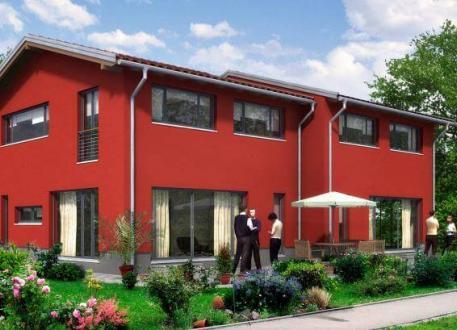 Einfamilienhaus ...individuell geplant ! - Doppelhaus in moderner Architektur - www.jk-traumhaus.de