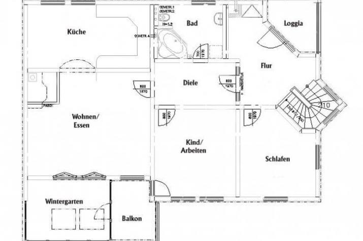individuell geplant dreifamilienhaus. Black Bedroom Furniture Sets. Home Design Ideas