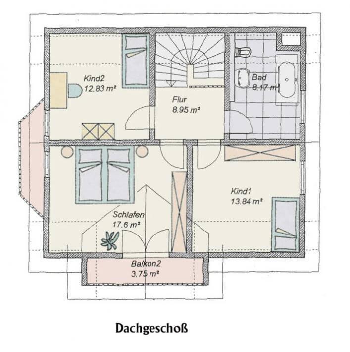 individuell geplant einfamilienhaus wohnen nach gutsherrenart. Black Bedroom Furniture Sets. Home Design Ideas