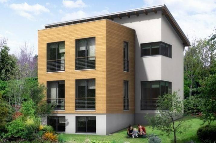 Individuell geplant einfamilienhaus geschickt for Einfamilienhaus flachdach