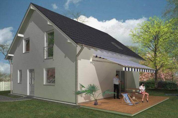 Jk traumhaus excellent bungalow die alternative zum haus for Alternative zum haus