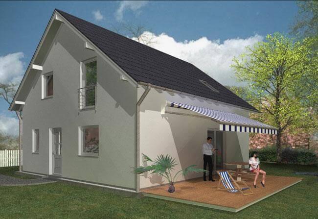 individuell geplant einfamilienhaus schlichte eleganz mit gro em platzangebot. Black Bedroom Furniture Sets. Home Design Ideas