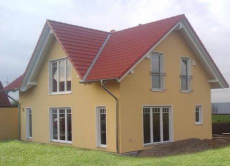 bis 200.000 € ...individuell geplant ! - Einfamilienhaus mit Zwerchgiebel - praktische Raumaufteilung kombiniert mit harmonischer Ausstrahlung - www.jk-traumhaus.de