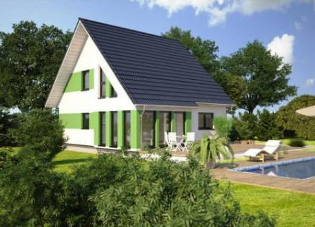 Holzhaus ...individuell geplant ! - Familienhaus mit idyllischem Studioerker über Eck- www.jk-traumhaus.de