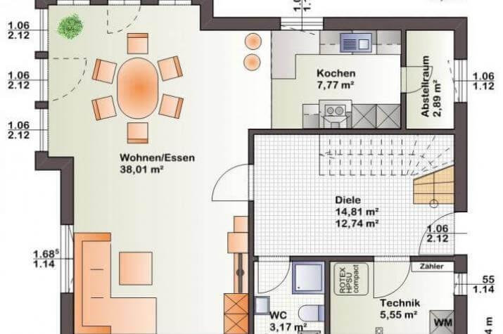 individuell geplant familienhaus mit idyllischem studioerker ber eck. Black Bedroom Furniture Sets. Home Design Ideas