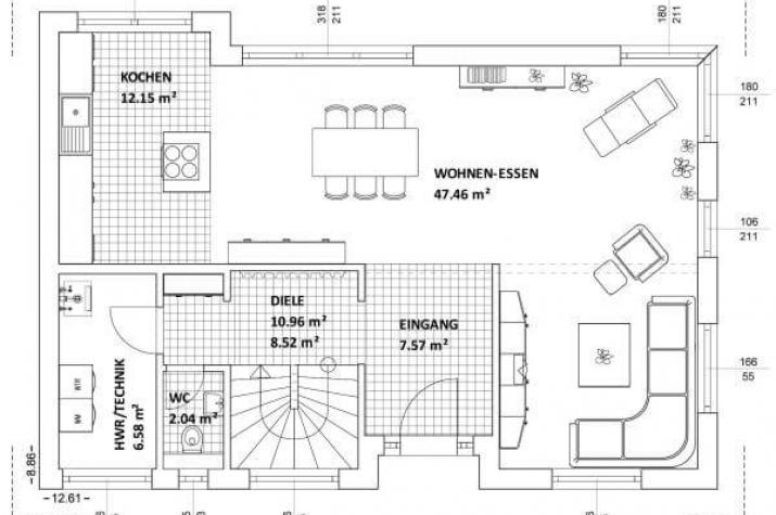 individuell geplant futuristisches bauhaus mit loggia f r grenzenlosen wohngenuss www. Black Bedroom Furniture Sets. Home Design Ideas