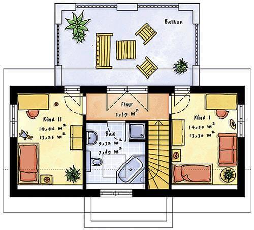 Individuell geplant futuristisches pultdachhaus for Pultdachhaus grundriss