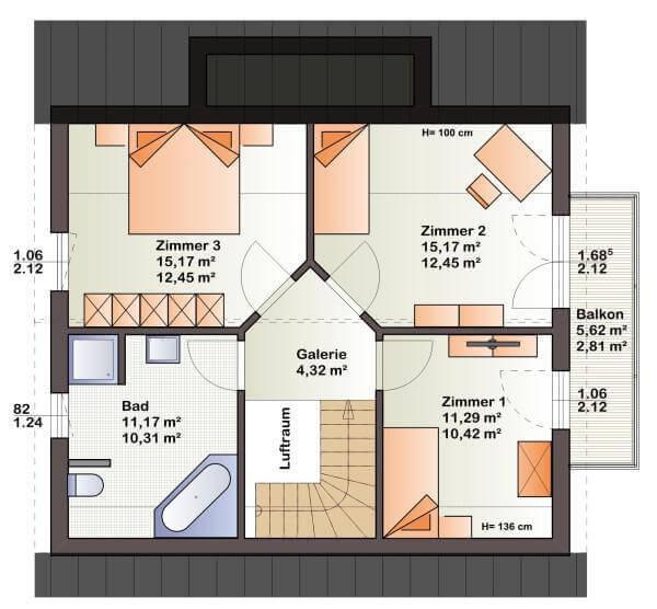 individuell geplant gem tlichkeit pur in modernem. Black Bedroom Furniture Sets. Home Design Ideas