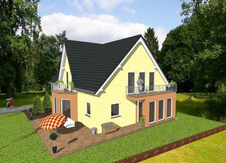 Frei planbare Häuser ...individuell geplant ! - Generationshaus im Landhausstil - www.jk-traumhaus.de